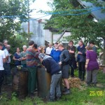 18 attended biochar course at Coed Hills, Wales.