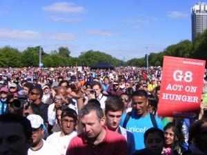 G8 rally